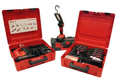 Rothenberger press fitting tool and accessories