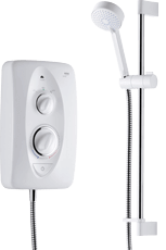 Mira Jump multi-fit electric shower white & chrome offer