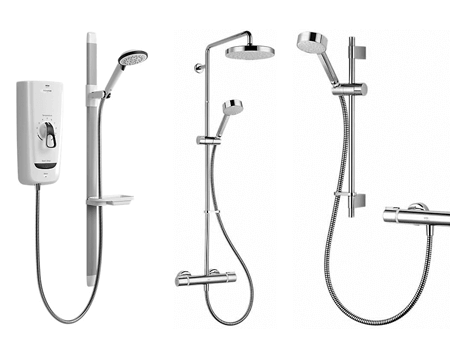 Complete your bathroom with our great price showers